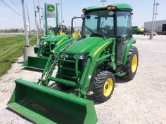 John Deere 3320 cab tractor with 300CX loader