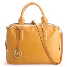 Carrie Compartment Satchel Purse | Emilie M. Shop