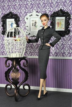 110-1. Outfit inspired by the suit S-4339 from the 50's Vogue Special Design pattern book by Natalia Sheppard, via Flickr