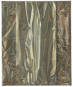"""Claudio Bravo (1936 - 2011) """"Silver Paper"""""""