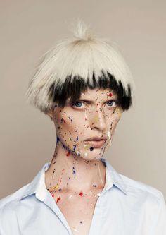Причёски и стрижки: фото из коллекции Olivier Thonnon Salon
