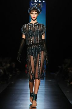 Jean Paul Gaultier Haute Couture Spring Summer 2014 Paris - NOWFASHION