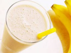 Banana Ginger Smoothie - Ginger has long been touted as a remedy for all kinds of queasiness; it treats heartburn and nausea, and morning and motion sickness. Here, ginger teams up with banana, a natural antacid. So, before you reach for an over-the-counter product for relief, whip up this soothing smoothie—it may just do the trick.