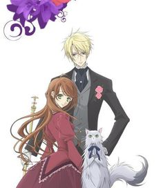 Earl and Fairy. I just finished watching this Anime. It's a romantic one actually. It's so sad coz there are only 13 episodes.