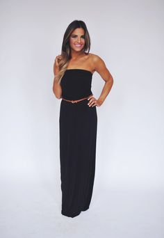 Dottie Couture Boutique - Black Tube Dress , $32.00 (http://www.dottiecouture.com/black-tube-dress/)