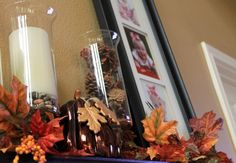 Fall Decorations - Click image to find more Home Decor Pinterest pins