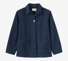 Toast cotton twill workwear jacket