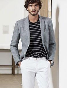 Swag, Dapper, Menswear, Stripes, Mens Fashion, Blazer, How To Wear, Pants, Jackets