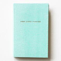 """Every Little Password"" Journal by Mr. Boddington's Studio"