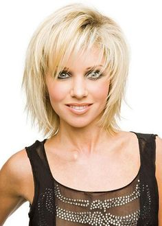 Cheap Top Quality Short Layered Straight Blonde Wig about 12 Inches GBP£26.64 PopWigs