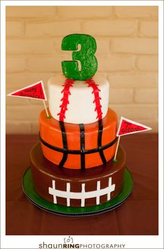 ball themed cake