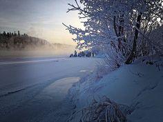 Frosty Yukon River by Mark H Rutledge, via Flickr