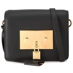 51dfed61c09f Tom Ford Leather Padlock Bag (€1.510) ❤ liked on Polyvore featuring bags,  handbags, shoulder bags, black, shoulder strap handbags, tom ford purse, ...