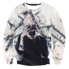 New Fashion Hooded Men Women Hoodies 3D Print Anime Tokyo Ghoul Sweatshirt Harajuku Hoodie Tracksuits Hip Hop Fashion Clothing