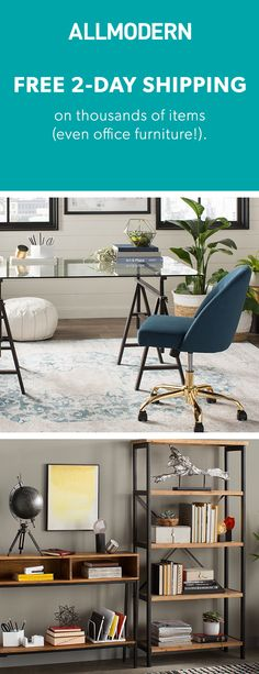 Office - Sign up now for FREE SHIPPING on orders over $49 at allmodern.com!