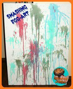 Smashing egg-art - Nico art piece