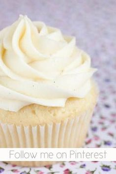 Vanilla Bean Buttercream - I have now made this - Holy Moly best buttercream ever - tasted like store bought cake :)