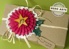 video #tutorial on making these rosettes #gift_wrap