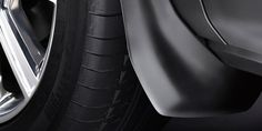 Mudflaps to reduce spray and help protect paintwork.  Pure and Prestige models (as shown) - Part No: VPLVP0065 / Dynamic models - Part No: VPLVP0066