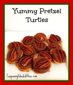 Yummy #Pretzel Turtles - Super Easy to Make couponingtobedebtfree.com