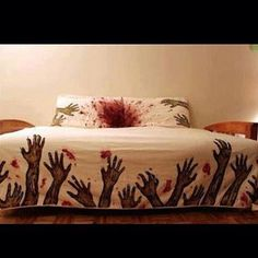 For all you Walking Dead fans.Zombie Apocalypse Bedding For all you Walking Dead fans.Zombie Apocalypse Bedding For all you Walking Dead fans. Zombies, Sleeping Alone, Zombie Attack, Zombie Walk, Dead Zombie, Zombie Zombie, Funny Zombie, Zombie Head, Zombie Pics