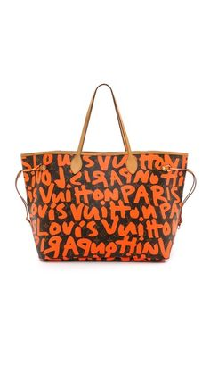 What Goes Around Comes Around Louis Vuitton Sprouse Neverfull Bag