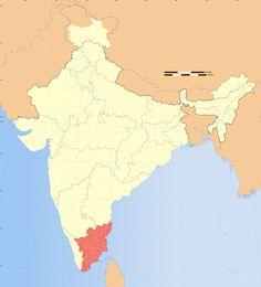 36 Best Tamilnadu Map Images Maps India Map India Travel