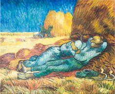 Mittagsrast von Vincent van Gogh