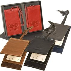 Two magnetic luggage tag set is defined for easy access to your personal information, yet it is always for hidden for safety. Hand-crafted from soft pebble grain leather with faux suede interior. Make Your Logo, Quality Logo Products, W 6, Corporate Gifts, Promotion, Zip Around Wallet, How To Memorize Things, Tags, Easy Access
