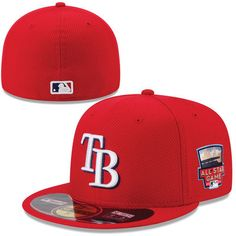 98a55811f Men s Tampa Bay Rays New Era Scarlet 2014 Home Run Derby 59FIFTY  Performance Fitted Hat Seattle