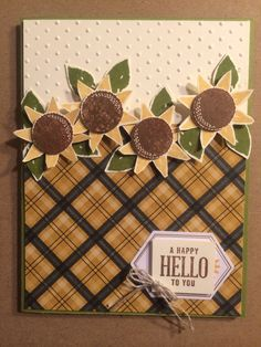 Stampin Up Paper Pumpkin alternative ideas September 2016 by Pat McG.