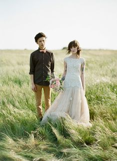 Wedding Editorial - Free People dress - finchandfawn.blogspot.com