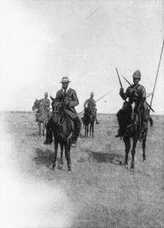 9th Lancers capture Boer prisoner day after Battle of Modder River
