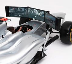 Full-Sized F1 Race Car Simulator for Your Living Room