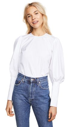 42 Basics You Have to Buy From Shopbop, Nordstrom, and Net-a-Porter Right Now Crisp White Shirt, White Shirts, Size 0 Models, Beige Outfit, Wedding Guest Looks, Veronica Beard, Cool Jackets, China Fashion, Women's Fashion