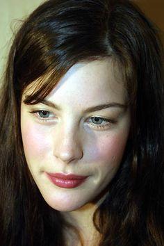 Liv Tyler's beautiful fair skin
