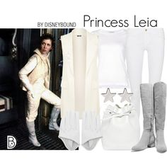 Disney Bound Princess Leia - Star Wars Princesses - Ideas of Star Wars Princesses - Disney Bound Princess Leia Disney Princess Outfits, Disney Dresses, Disney Outfits, Disney Bound Outfits Casual, Disney Clothes, Disney Fashion, Character Inspired Outfits, Disney Inspired Outfits, Disney Style