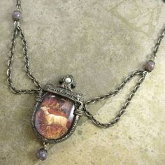 Custom necklace by Parrish Relics