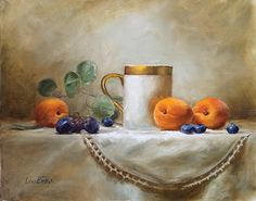 Lois Eakin - Apricots and Grapes