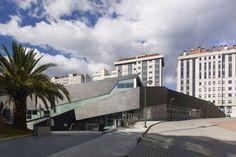Sport Complex and Swimming Pool in La Florida. Vigo (Spain)