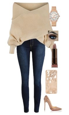"""""""Untitled #186"""" by lexi4life646 ❤ liked on Polyvore featuring WithChic, Jaeger-LeCoultre and Christian Louboutin"""