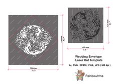 Excited to share the latest addition to my #etsy shop: Wedding Envelope Laser Cut Template.Floral pattern for Christening, Baby Showers, Invitations, Birthdays, Weddings. http://etsy.me/2DCxwZH #weddings #DIY#invitation #christening #paper #templates #weddingenvelope #