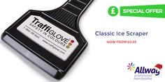 Special offer on our promotional classic ice scraper (valid until 31/3/2018) | Promotional Ice Scraper  http://www.allwag.co.uk/listing_product.aspx?searchTerm=ice%20scraper&specials=true  #promotional #ice #scraper #merchandise #branding #automotive