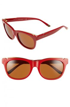 9d75b4742c9 Available    156.00 Tory Burch 53mm Gold Trimmed Sunglasses   womenssunglasses Sunglasses