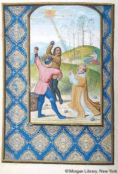 Book of Hours, MS M.399 fol.285v - Images from Medieval and Renaissance Manuscripts - The Morgan Library & Museum