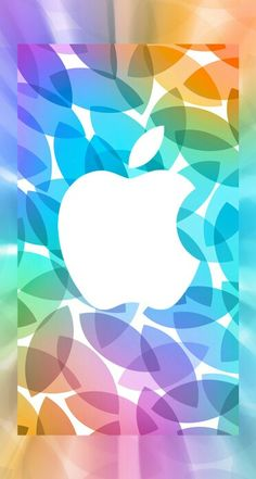 Apple Logo Wallpaper Iphone, Android Phone Wallpaper, Iphone Wallpapers, More Wallpaper, Wallpaper Pictures, Apple Background, Apple Picture, Pretty Wallpapers, Rainbow Colors