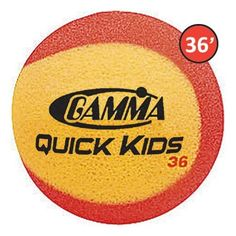 Gamma Quick Kids 36 Foam Tennis Balls - 3pk by Gamma. $7.94