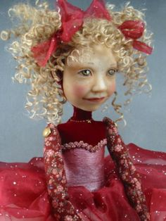 my favorite Diane Adams doll..she makes me smile!!!