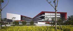 BINHAIXIAOWAI HIGH SCHOOL by HHD_FUN Architects in Singapore