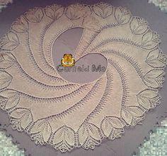 dreambird pattern knitting free | Begonia Swirl Shawl Pattern